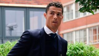 Dan wasan Real Madrid Cristiano Ronaldo