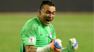 Veteran goalkeeper Essam El Hadary