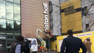 Colston Hall name being removed
