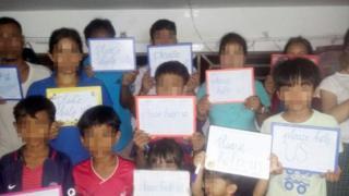 những người Thượng cầu xin đừng trục xuất họ về Việt Nam