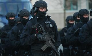File pic of anti-terror police