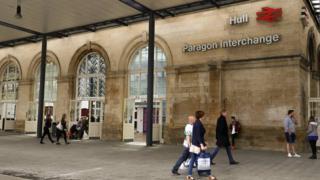 Hull Paragon Station