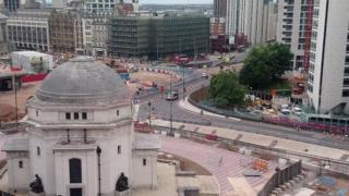 Work in Birmingham