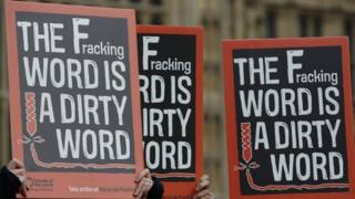 Fracking demo picture