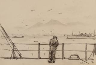 Leaving Naples, 1946