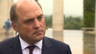 Ben Wallace Defence Secretary