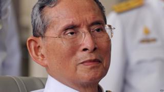 Kral Bhumibol Adulyadej, 2010-cu ildə çəkilən foto