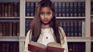 Rhea on Channel 4's Child Genius