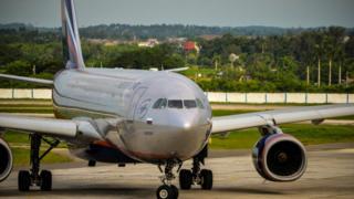 Aeroflot jet - file pic, 11 July 13