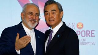 وانگ یی و محمد جواد ظریف