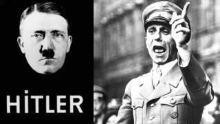 हिटलर आणि गोबेल्स