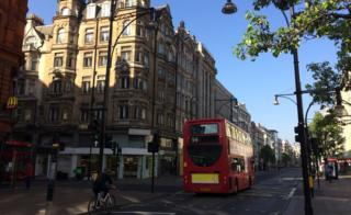 Junction of Oxford Street and Harewood Place