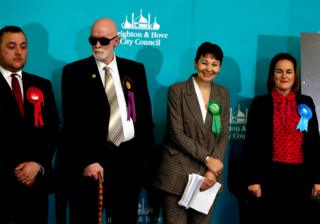 in_pictures Green Party candidate Caroline Lucas