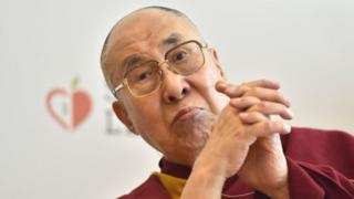 Image shows the Dalai Lama