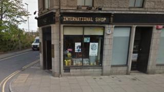 International Shop in Aberdeen