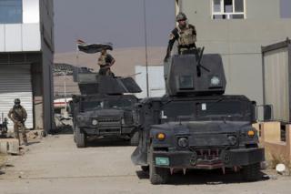 Иракские войска в Бартелле, Ирак