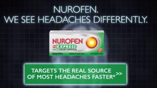 Nurofen Express advert