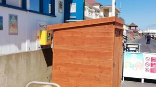 Defibrillator blocked in Lowestoft