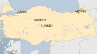 Map of Turkey 24 August 2015