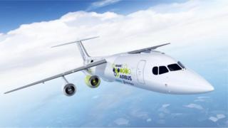 شركات تعمل على تطوير تكنولوجيا الطائرة الكهربائية