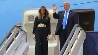 Mr & Mrs Trump