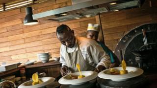 Le chef congolais Christian Yumbi