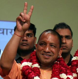 Adityanath victory