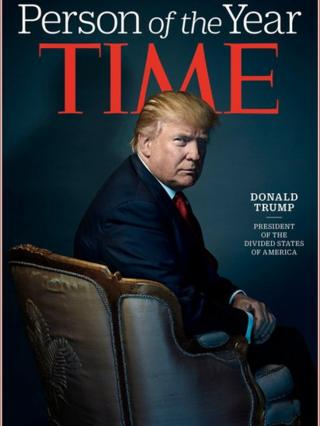 Donald Trump on the Time cover