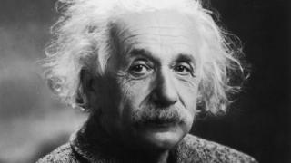 Fotografia do físico Albert Einstein