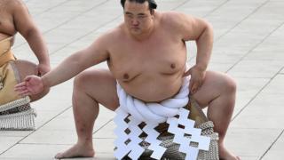 Japon sumo güreşçisi