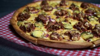 The Burger Pizza