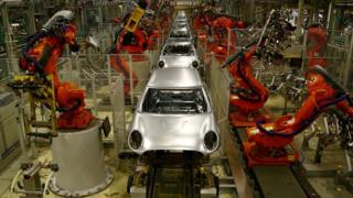 BMW plant in Oxford
