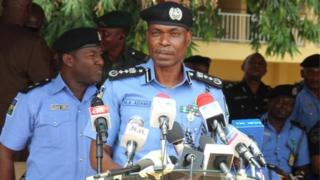 IG of police dye tok to im officers for Lagos state.