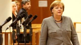 Canciller alemana Ángela Merkel.