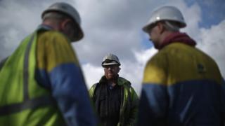 Port Talbot steel workers
