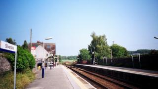 Silverdale station, Lancashire
