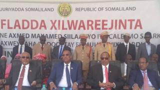 Xafladda dhaarinta Somaliland