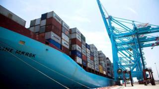 Нападение было совершено и на датскую компанию Maersk, занимающуюся морскими грузоперевозками