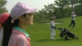 Поле для гольфа в Китае