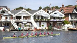 Regatta rowing