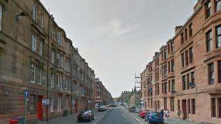 Calder Street in Glasgow