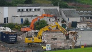 Primary demolished to make way for Jedburgh campus car park