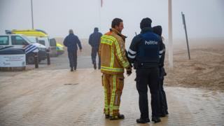 Migrant boat sinks trying to reach UK from Belgium