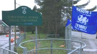 Tonyrefail school