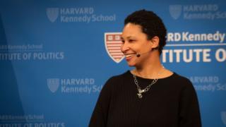 Danielle Allen dá palaestra em Harvard