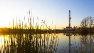BP rig in Texas, US