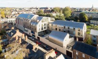 Exeter College Cohen Quadrangle