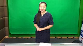 MC khiếm thị đầu tiên của Đài THVN, Hương Giang