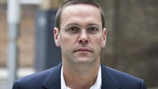 Close up of James Murdoch's face from 2011