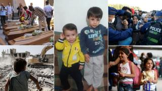 Images from the migrant crisis